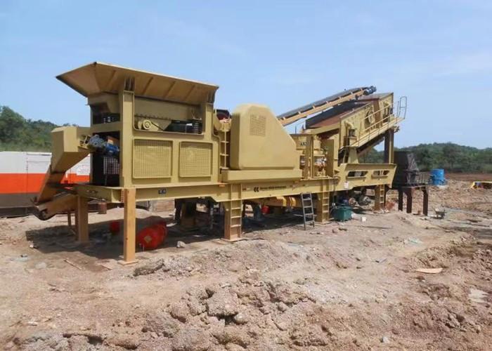 移动制砂机用户案例